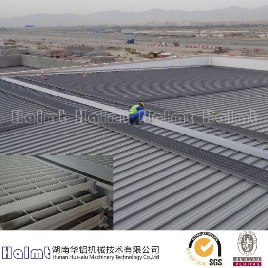 China Factory Roof Aluminium Walkway for Industry