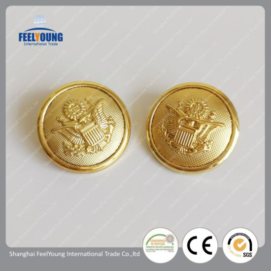 High Quality Metal Button Alloy Button for Fashion Clothing