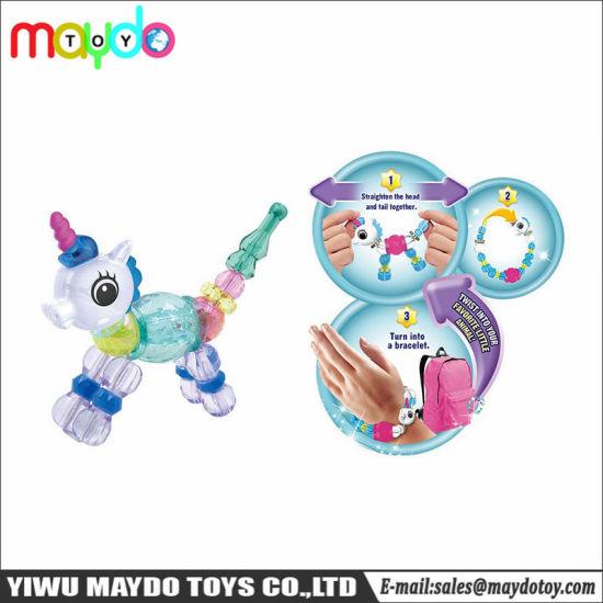 Hot Diy Twisty Petz Magic Bracelet Kids Novelty Toy