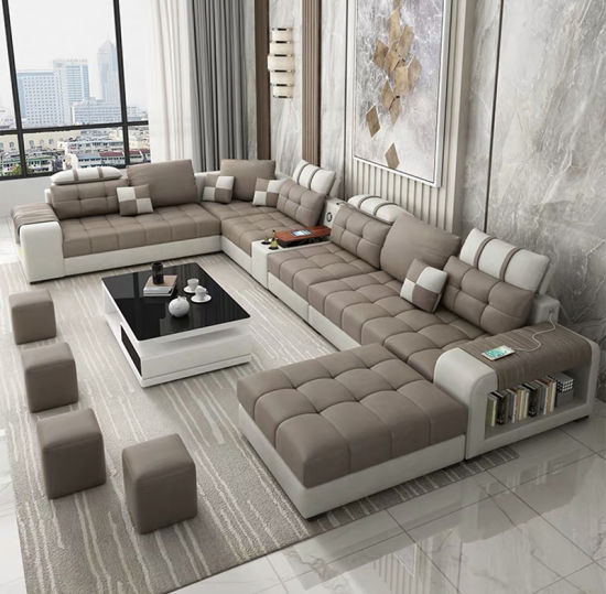 Japanese Style Living Room Furniture Fabric Chesterfield Leather Sofa Cloth Art Sofa