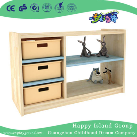 Kindergarten Five Layers Wooden Storage Cabinet for Sale (HJ-3902)