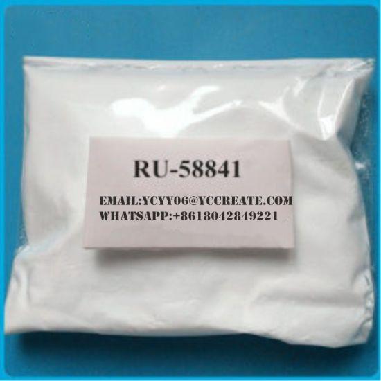 China 99% Purity Anti-Estrogen Raw Powder Ru-58841 for Hair
