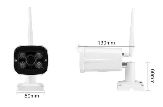1080P Outdoor Security Dome Wireless IP IR Waterproof CCTV Camera