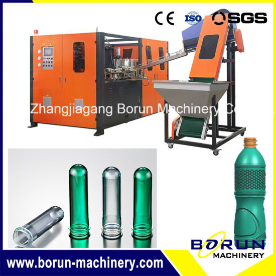 Water Bottle Blower / Pet Bottle Blowing Equipment with Four Cavities pictures & photos
