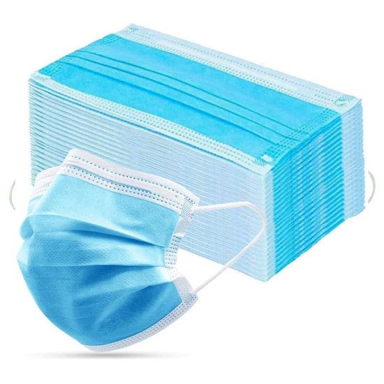 Non-Woven Eco-Friendly F 3-Ply Non-Medical Disposable Face Mask