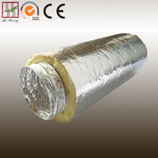 China Insulated Flexible Duct Used for Air Conditioning
