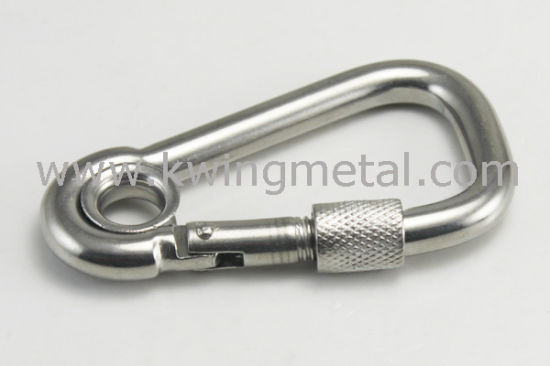 Stainless Steel Carbine Hook with Eyelet pictures & photos
