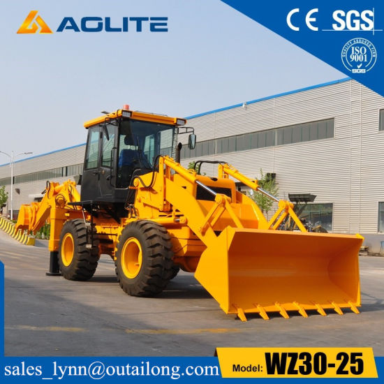 Low Price 2.5ton Small Backhoe Wheel Loader Wz30-25 for Sale pictures & photos