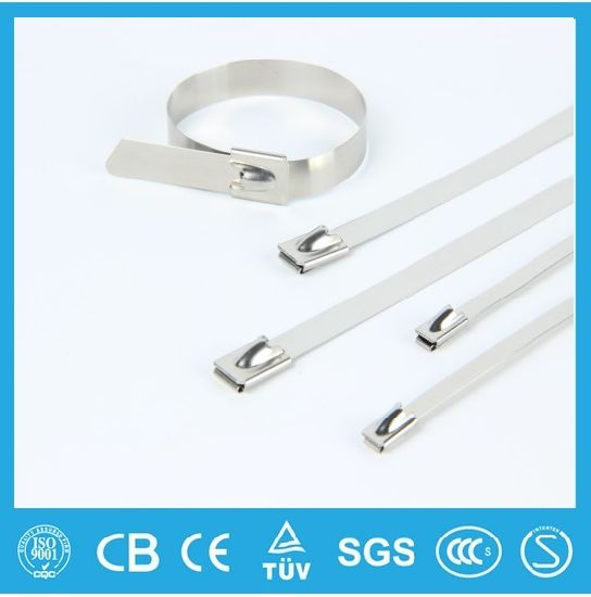 UL, Ce, RoHS, ISO9001: 2008, Plastic Covered PVC Coated Stainless Steel Cable Tie Free Sample