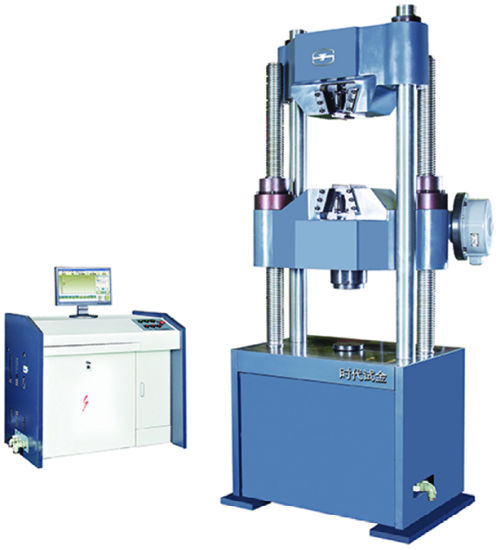 Automatic control Servo Hydraulic Universal Testing Machine TIME WAW-1000C