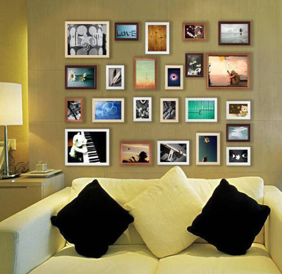 China Assorted Wall Photo Frames for Living Room - China Assorted ...