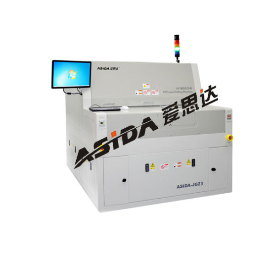 High Output Laser Small Hole Drilling Fro Flex-Rigid Prited Wiring Boards (JG23)