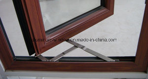 Aluminum Open Inside French Casement Window with Blinds pictures & photos