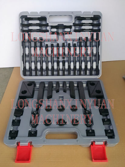 M12X14mm Deluxe Steel High Hardness 58PCS Clamping Kit in Toolbox pictures & photos