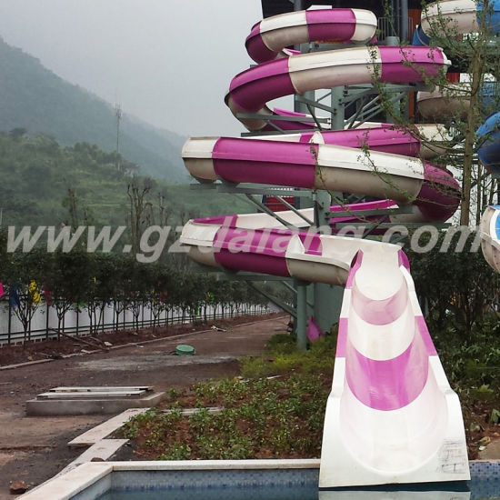 Open Spiral Water Slide (DL-42001) pictures & photos