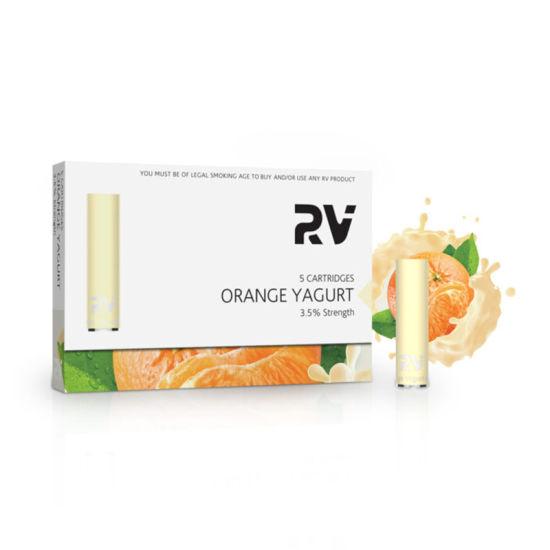 RV- Vape Pen Electronic Cigarette Classic Cartridge Orange Yakult