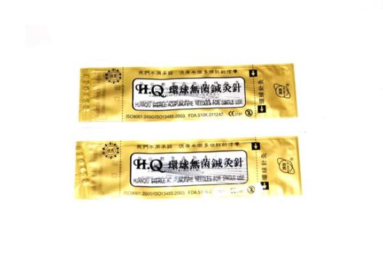 Huanqiu Brand Acupuncture Hand Needle with Tube pictures & photos