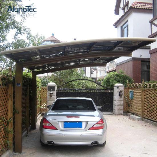 Outdoor Carport Car Shelter Aluminum Modern Canopy Sunshade Cover