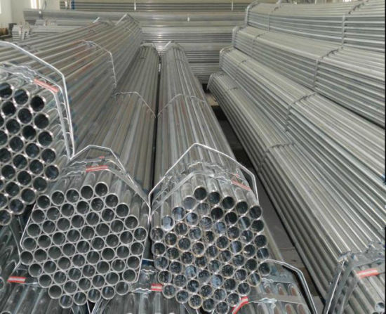Q235 1inch 1.5inch 2inch Galvanized Steel Round Tube/Square Steel Pipe pictures & photos
