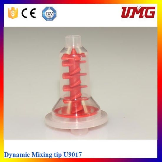 Dental Consumable Materials Silicone Dynamic Mixing Tips Fits Pentamix Type