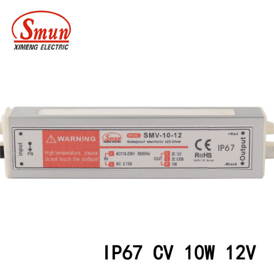 China 12V 0.8A 10W Constant Voltage LED Switching Power Supply SMPS ...
