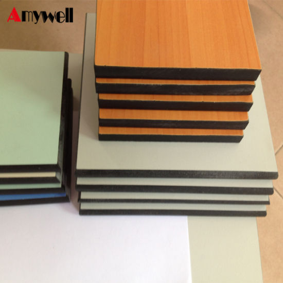 Decoration Outdoor 25mm Laminate Resin Phenolic Cladding Compact Laminated  Fireproof Formica HPL Exterior Wall Panels