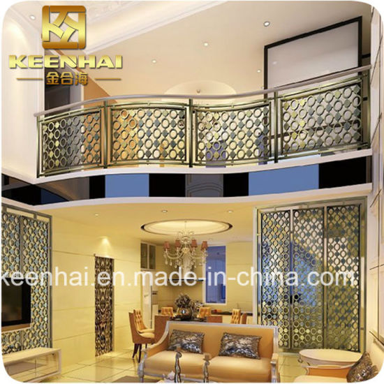 China Metal Stainless Steel Room Divider Partition Screen for Living