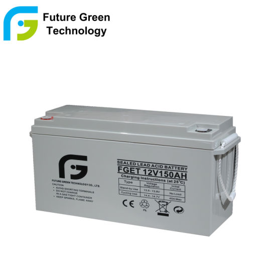 12V150ah Rechargeable Deep Cycle UPS Solar Power Gel Battery
