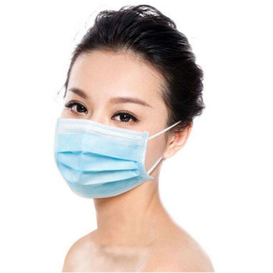 Wholesale Disposable Face Mask Non Woven 3ply Mask Face