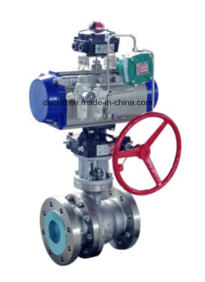 Stainless Steel Sanitary Pressure Regulating Control Ball Valve Gate Valve pictures & photos