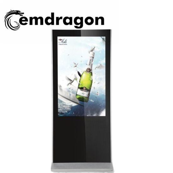ODM Advertising Screen Advertising Player 43 Inch Ultrathin Vertical Advertising Kiosk LED Digital Signage pictures & photos