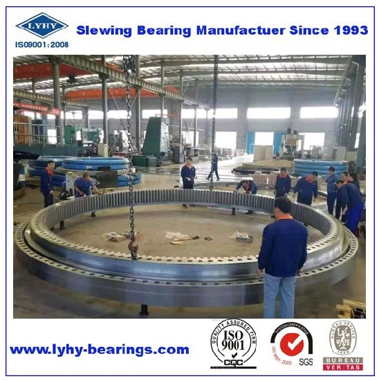 Big Diameter Slewing Bearing 012.50.3739 Internal Gear Teeth Turntable Bearing 012.50.3839