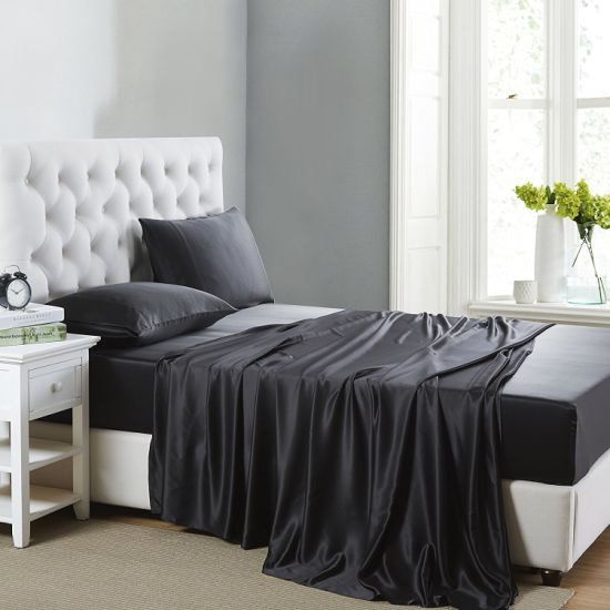Good Price 100% Mulberry Silk Bedding Set pictures & photos