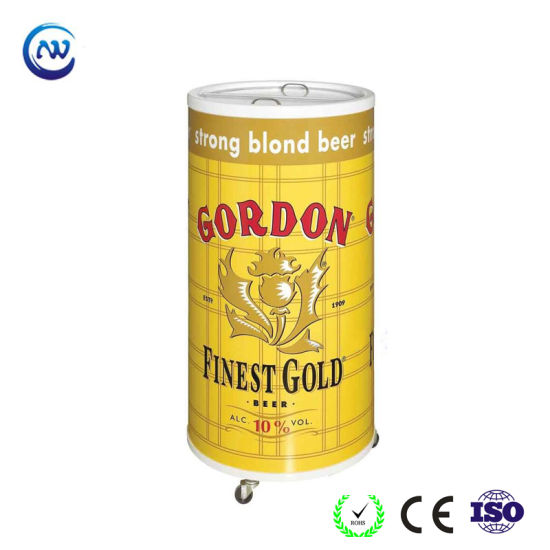 Outdoor Portable Round Shape Energy Drink Beer Can Cooler (SC-75T)