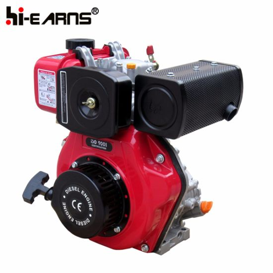 4HP Diesel Engine with Thread Shaft Red Color (HR170F) pictures & photos