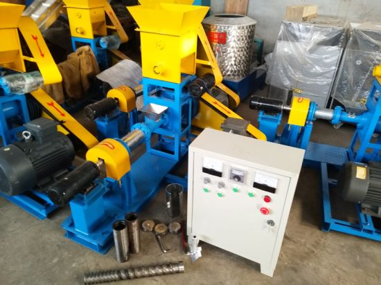 Animal Fish Feed Making Pet Food Pellet Mill Extruder Machine pictures & photos