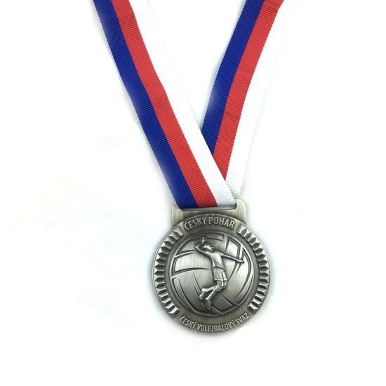 2019 Popular 3D Antique Metal Custom Sport Medal