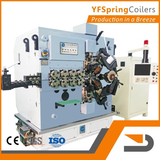 China yfspring coilers c580 five servos wire diameter 300 800 yfspring coilers c580 five servos wire diameter 300 800 mm compression spring machine greentooth Images