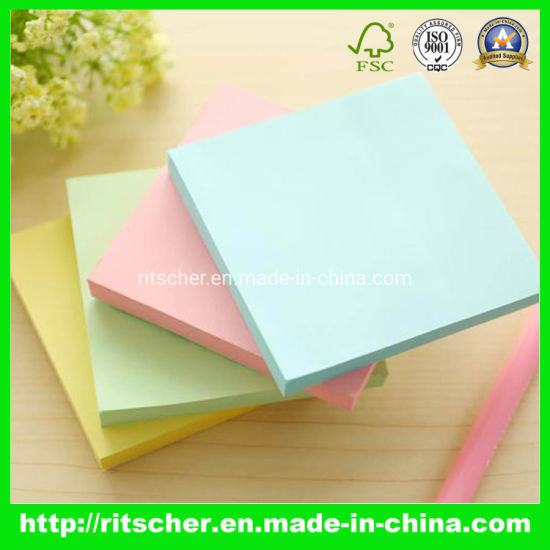 Sticky Note Set Note Pad Memo Pad with FSC Certificate