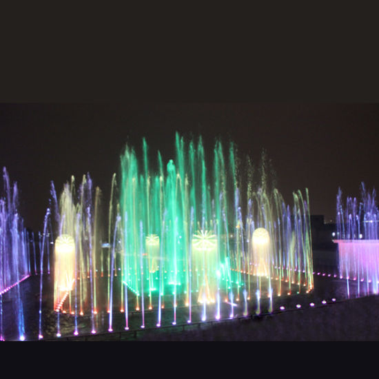 Big Size Dandelion Rectangle LED Outdoor Musical Dancing Fountain pictures & photos