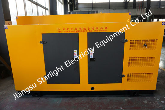 China Silent Canopy Diesel Generator Set with Perkins Engine