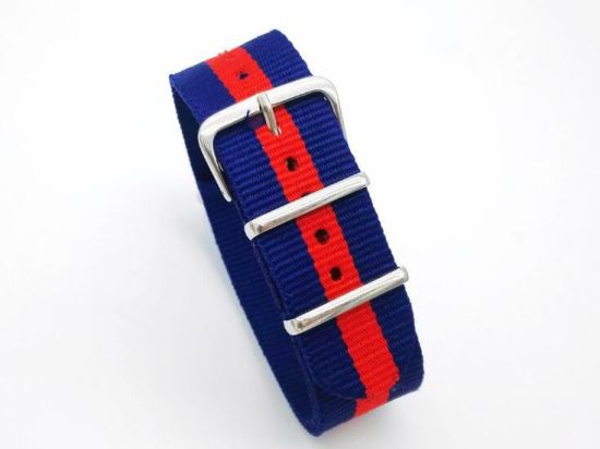 New Style Nato Strap 18mm 20mm 22mm Watchband Silver Buckle Army Military Nylon Watch Band Bracelet for Watch Bracelet pictures & photos