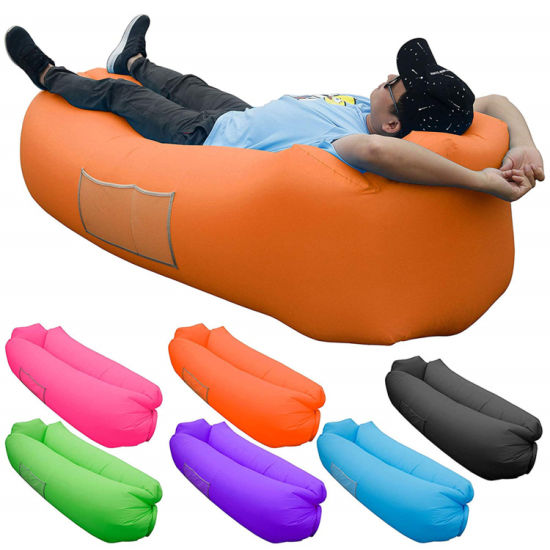 Outdoor Beach Inflatable Air Lounger Bed for Adults and Kids OEM Manufacturer