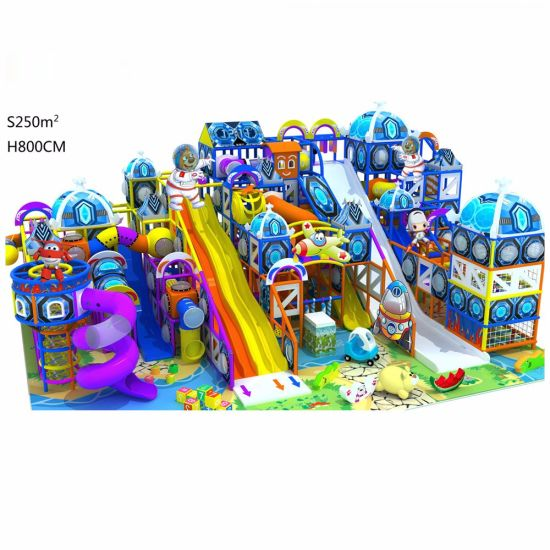 Small Indoor Playground Equipment for Home Kindergarten Indoor Play Structure pictures & photos