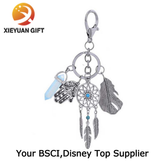 Professional Supplier of Custom Engraved Logo Stainless Keychain Pendant