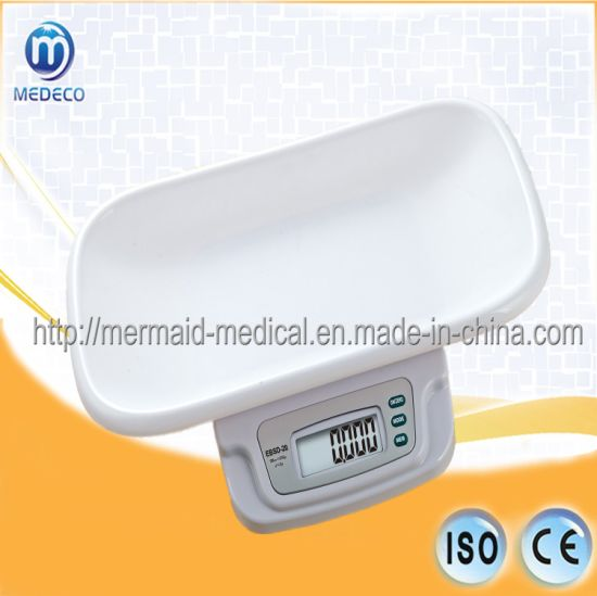 House Care/Hospital Baby /Infant Electronic Body Weighing Scale Ebsd-20 pictures & photos