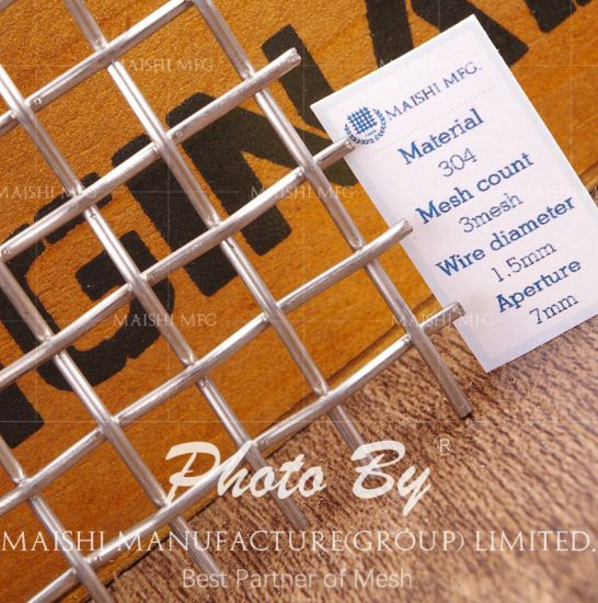 High Tension Stainless Steel Wire Mesh pictures & photos