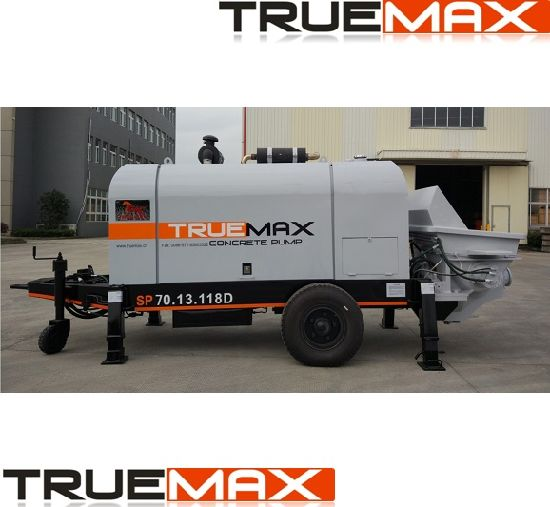 Small Portable Concrete Mixer and Pumping Machine pictures & photos