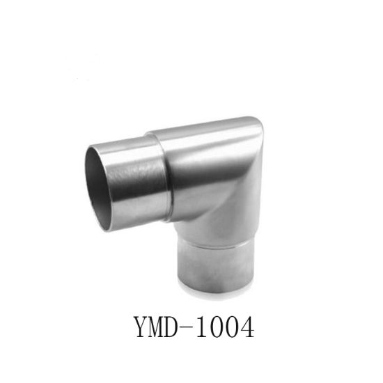 Stainless Staircase Stairs Baluster Handrail Support Ss Handrail Fittings Pipe Connector Fittings pictures & photos