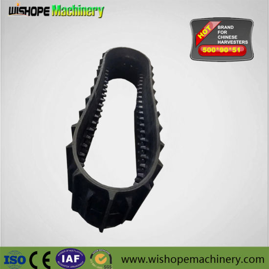 Kubota Rubber Crawler for DC60 DC70 Combine Harvesters pictures & photos